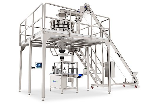 Spindexer Container Filling Machine