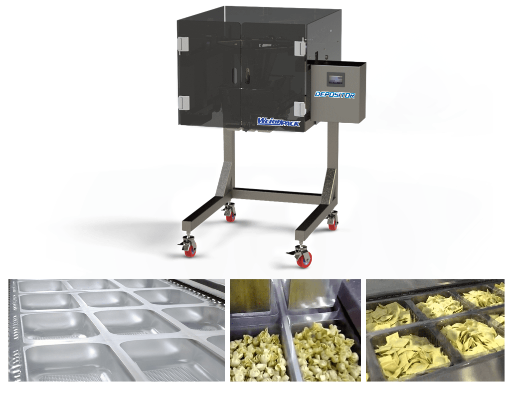 WeighPack Versatile Packaging System to Weigh and Fill Both Solids and Ppowders into Jars