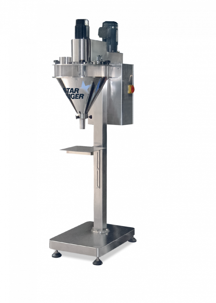 Auger volumetric filling machine