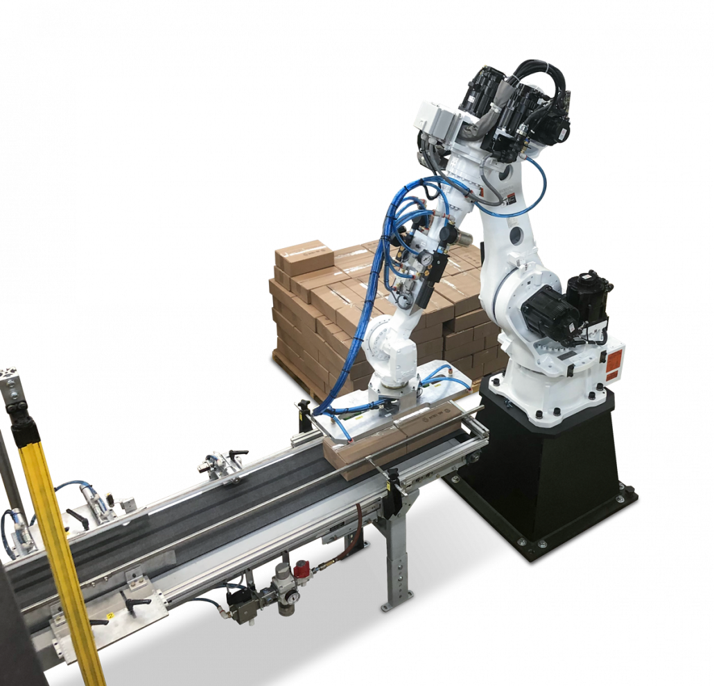 robotic palletizing machine