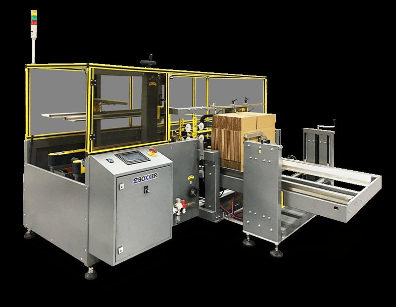 Automatic case erecting machine