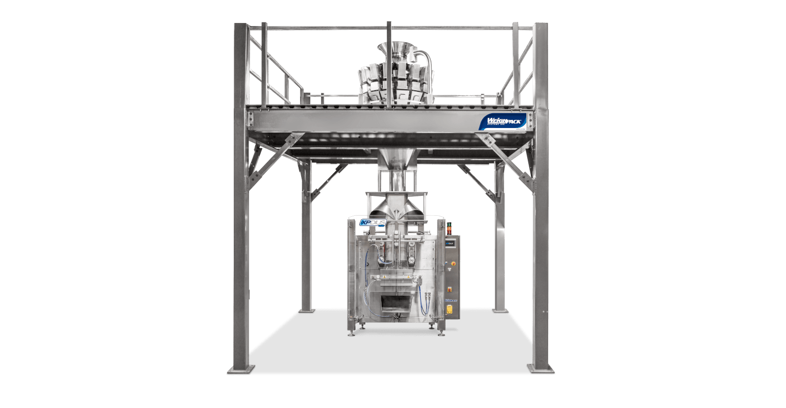 Vertical form fill and seal machine for high speed packaging