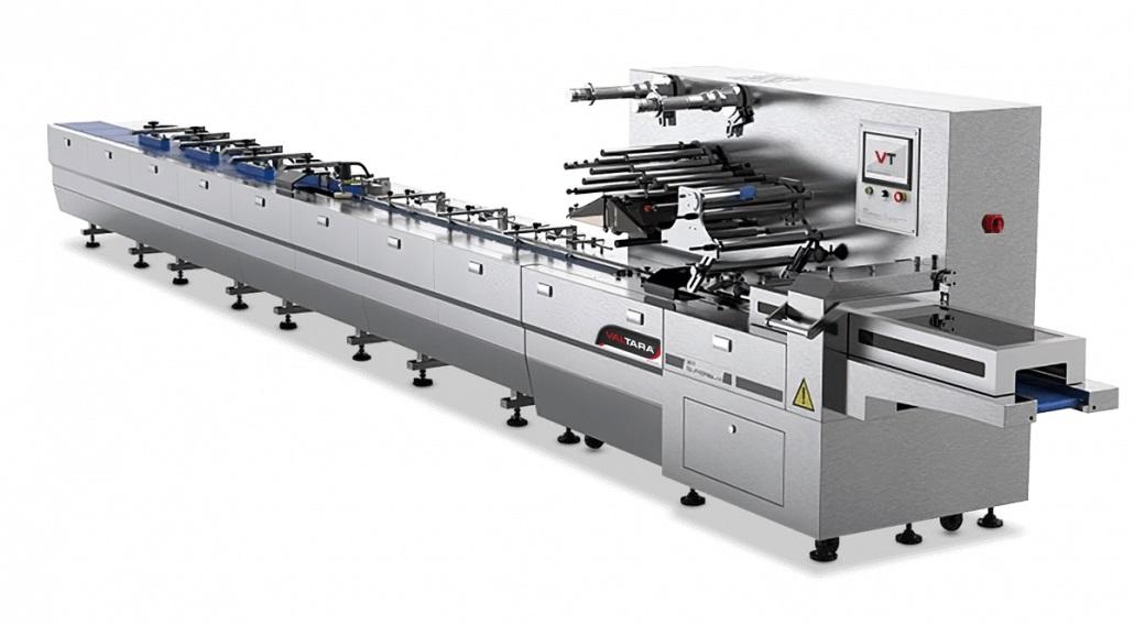 Sleek HSA automated flow wrapping machinery