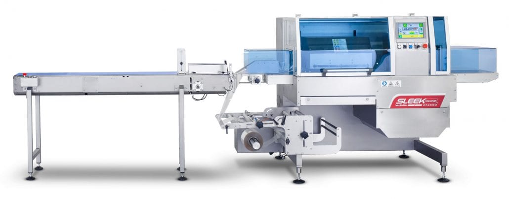 SleekWrapper Inverted flow wrapping machinery