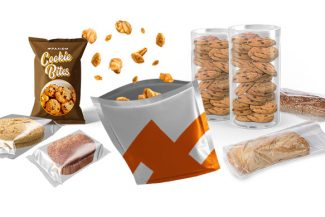 Baked goods packaging types
