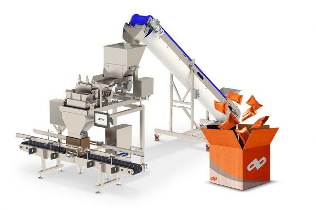 bulk weigh filling machine