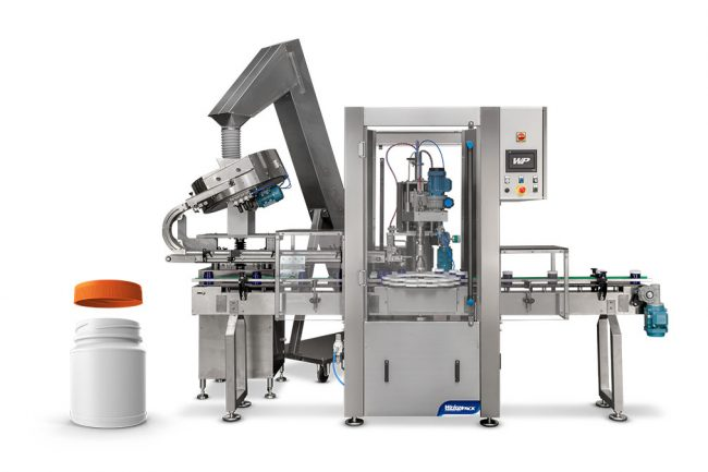 automated bottle capping machine
