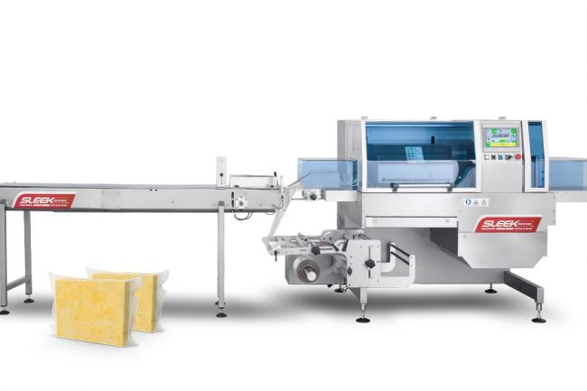 cheese flow wrapping machine