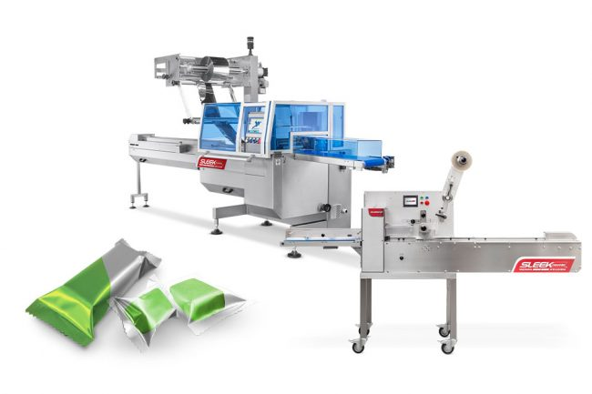 Flow Wrapping Cannabis products with SleekWrapper machinery