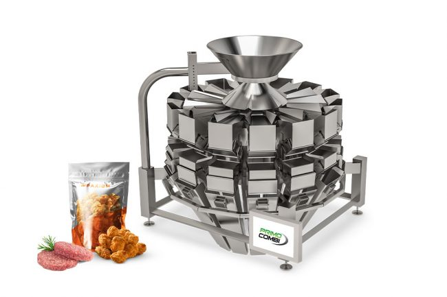 meat weigh filling machine