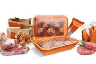 Meat and poultry packaging machine