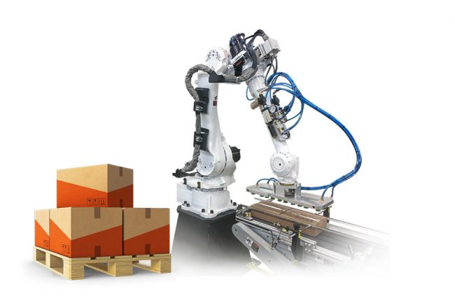 Robotic Palletizing with examples
