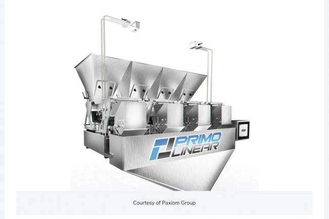PrimoLinear automatic weigh filling machine