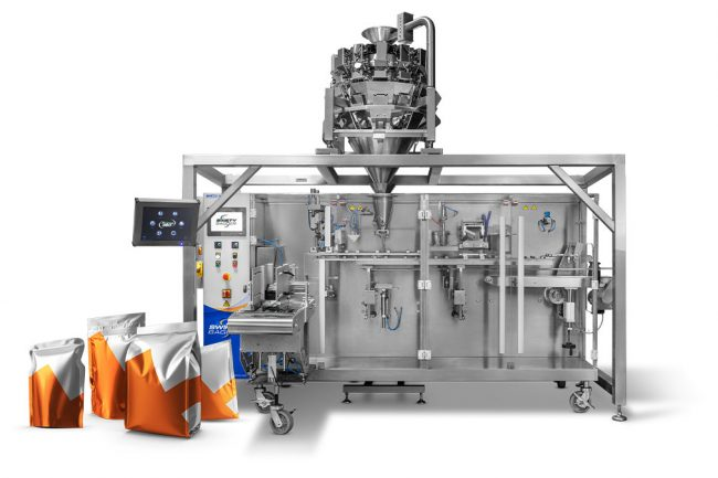 cheese pouch filling machine