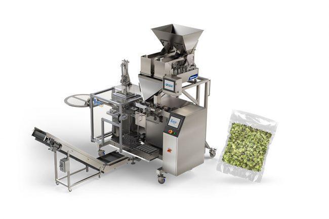 Cannabis vacuum bag sealing for packaging machinery