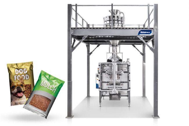 bulk pet food bagging machine
